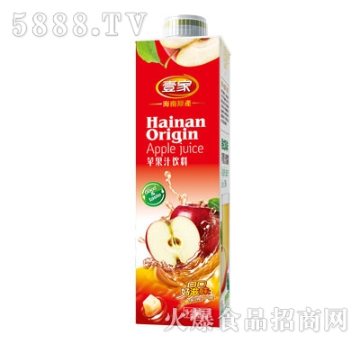 壹家苹果汁饮料1L