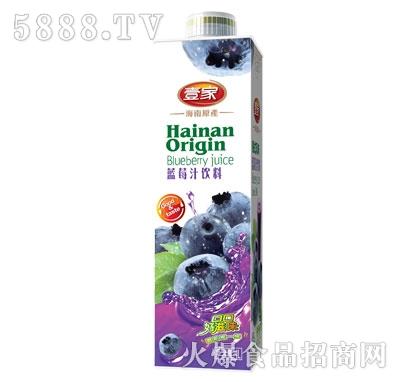 壹家蓝莓汁饮料1L