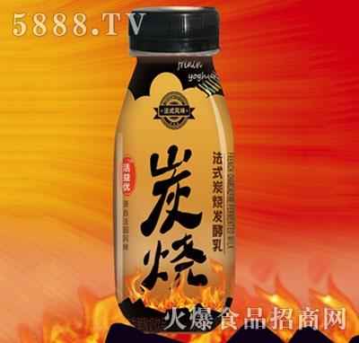 活益优炭烧法式风味发酵乳瓶装