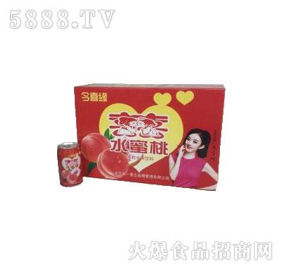 果名一水蜜桃318mlX24罐