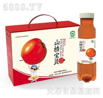 山楂宝贝山楂果肉果汁350mlx12瓶