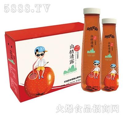 山楂宝贝山楂清露山楂果肉果汁350mlx15瓶