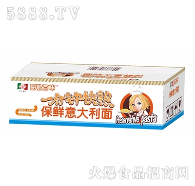 丽歌百味一分钟快熟保鲜意大利面180克x36包