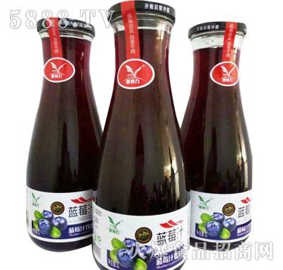 百多利蓝莓汁1L