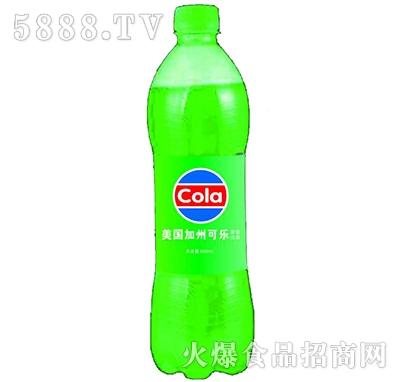 美国加州绿色可乐550ml