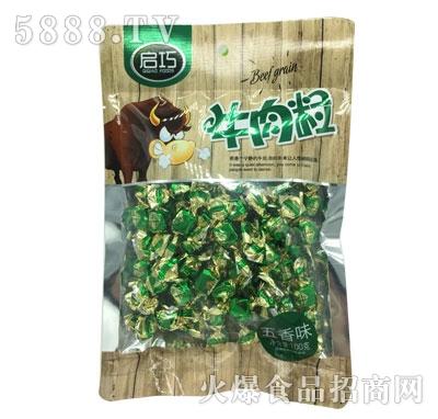启巧牛肉粒五香味100g