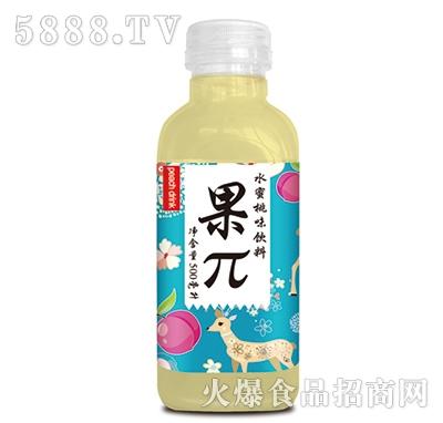果π水蜜桃味饮料500ml
