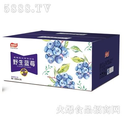 膳鑫园野生蓝莓汁300mlx20瓶