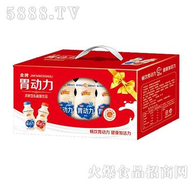 金牌胃动力发酵型乳酸菌饮料箱装