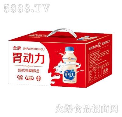 金牌胃动力发酵型乳酸菌饮料340ml箱装