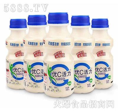 金牌优c活力乳酸菌饮料原味340ml(多瓶)