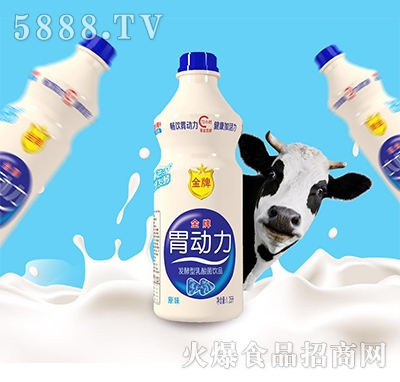 金牌胃动力乳酸菌饮料原味1.25L