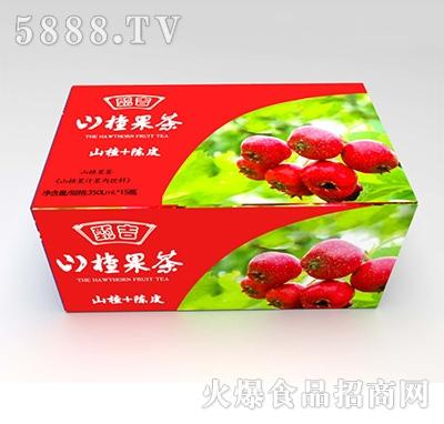 甄吉山楂果茶350mlx15瓶