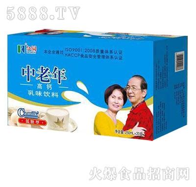 仿山龙潭中老年高钙低糖型250mlx20盒