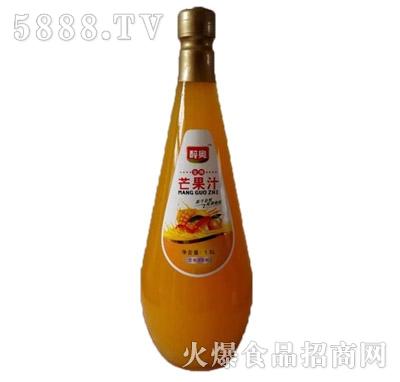 醉奥芒果汁1.5L