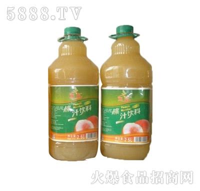 恒伟怀神2.5L桃汁饮料