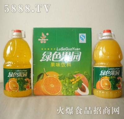 恒伟绿色果园果汁饮料