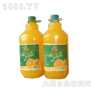 恒伟怀神2.5L橙汁饮料