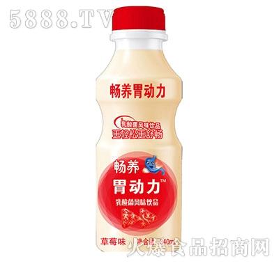 畅养胃动力乳酸菌饮品草莓味340ml