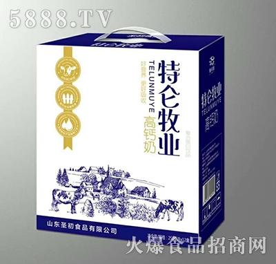 圣初特仑牧业高钙奶箱250mlx12盒