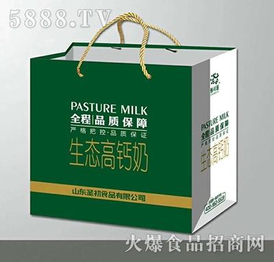 圣品生态高钙奶双提袋