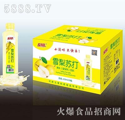雪梨苏打果味饮料420mlX24瓶