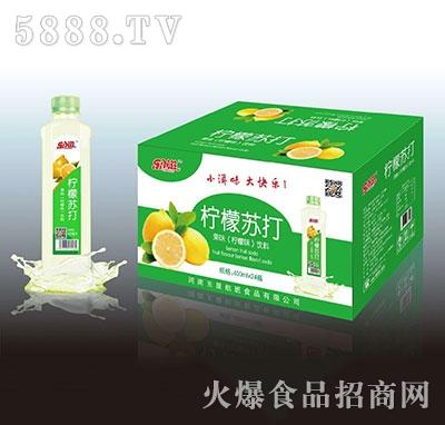 柠檬苏打果味饮料420mlX24瓶