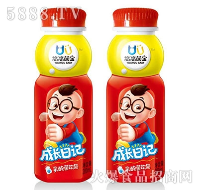 悠悠萌宝成长日记乳酸菌饮品200ml