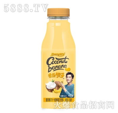 香蕉椰子植物蛋白饮料350ml