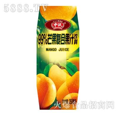 中沃99%芒果复合果汁饮料250ml