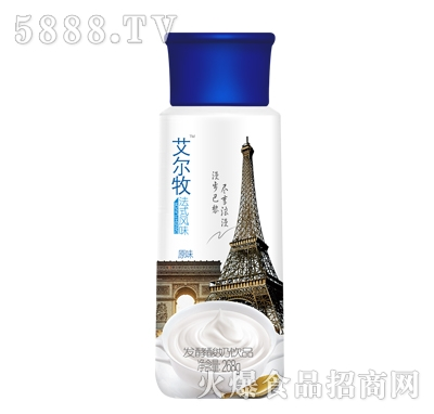 艾尔牧发酵酸奶饮品原味268g