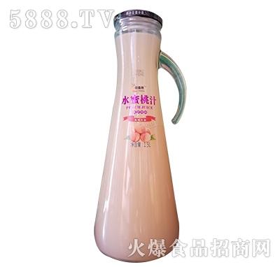 醇香果水蜜桃汁1.5L