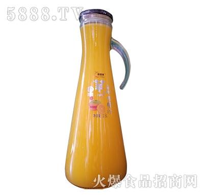 醇香果香橙汁1.5L