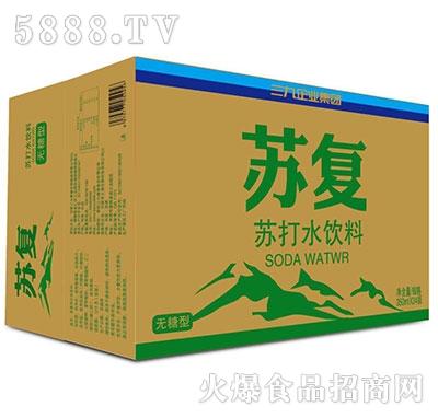 苏复苏打水无糖型350mlx24瓶