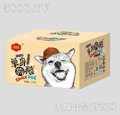 洛必客单身狗粮干吃面辣条味3.75kg