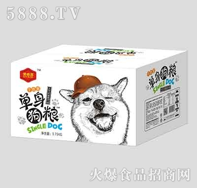 洛必客单身狗粮干吃面香葱鸡汁味3.75kg