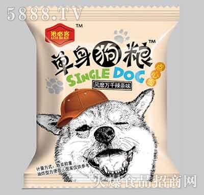 洛必客单身狗粮干吃面辣条味