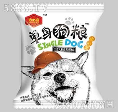 洛必客单身狗粮干吃面香葱鸡汁味