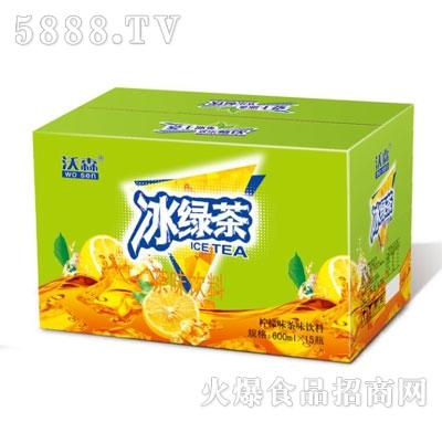沃森冰绿茶600mlX15