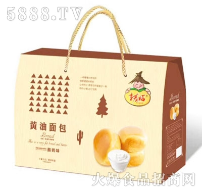 享麦福黄油面包酸奶味(礼盒)