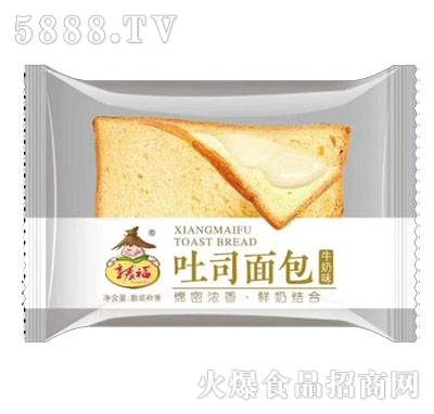 享麦福黄油面包牛奶味