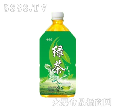 今生梦绿茶饮料1L