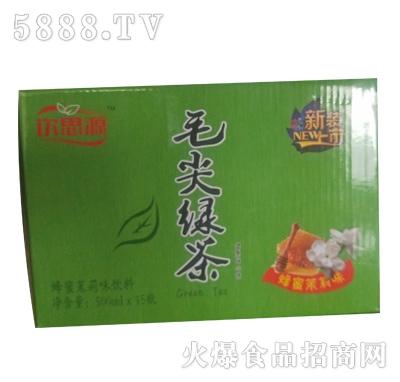 饮思源毛尖绿茶500mlx15瓶