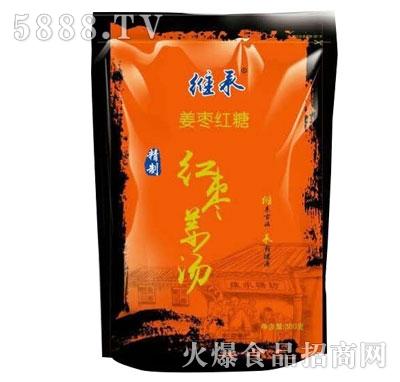 维承姜枣红糖300g