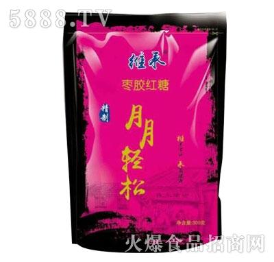 维承枣胶红糖300g