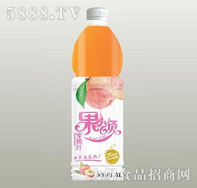 果颂蜜桃汁1.5L
