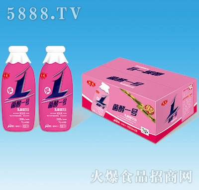 鹤园菌酵一号乳酸菌饮品+蜜桃汁