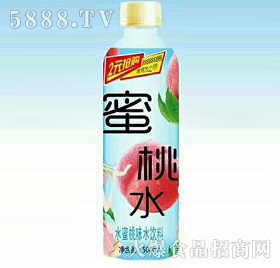 蜜桃水水蜜桃味水饮料500ml