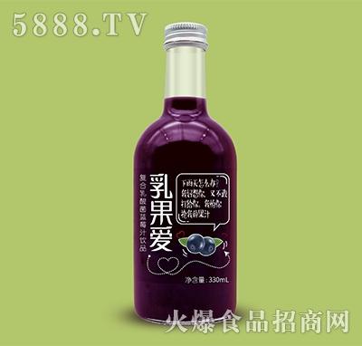 乳果爱复合乳酸菌蓝莓汁饮品330ml