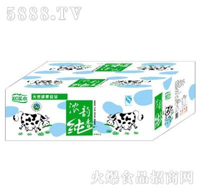 汇甜浓韵纯香牛奶箱装